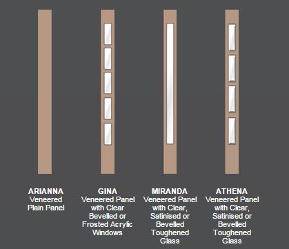 woodven panels