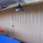 Spazio folding doors room dividers