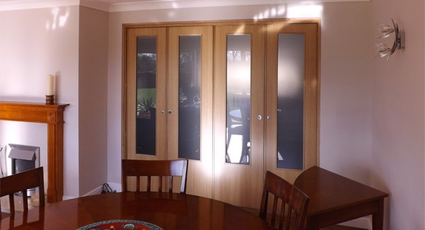 Spazio Folding Doors Folding doors, Internal Folding doors, Room ...