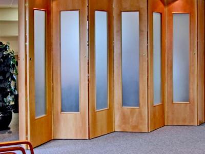 Pareti Folding Walls & Spazio Folding Doors Folding doors Internal Folding doors Room ...
