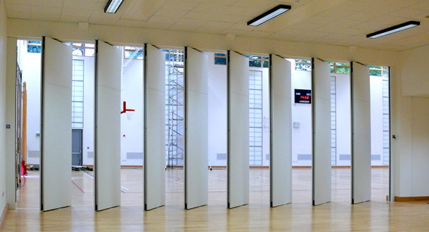 Acoustic Operable Wall acoustic operable walls Spazio provide acoustic movable walls Operable Wall Spazio Folding Doors & Spazio Folding Doors Folding doors Internal Folding doors Room ...