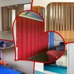 plastic folding doors Spazio Folding doors - room dividers - folding partitions - Bi fold doors