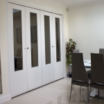 Acoustic Operable Walls Domestic Folding Doors Made to measure Spazio Folding and bi-folding doors