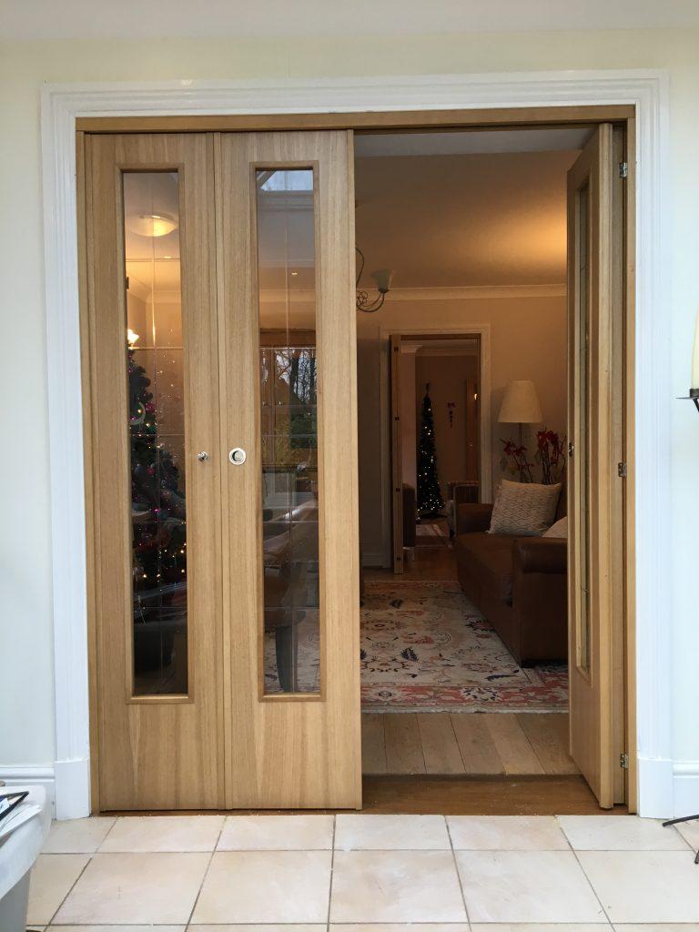 Spazio Folding Doors Internal Folding Doors Room